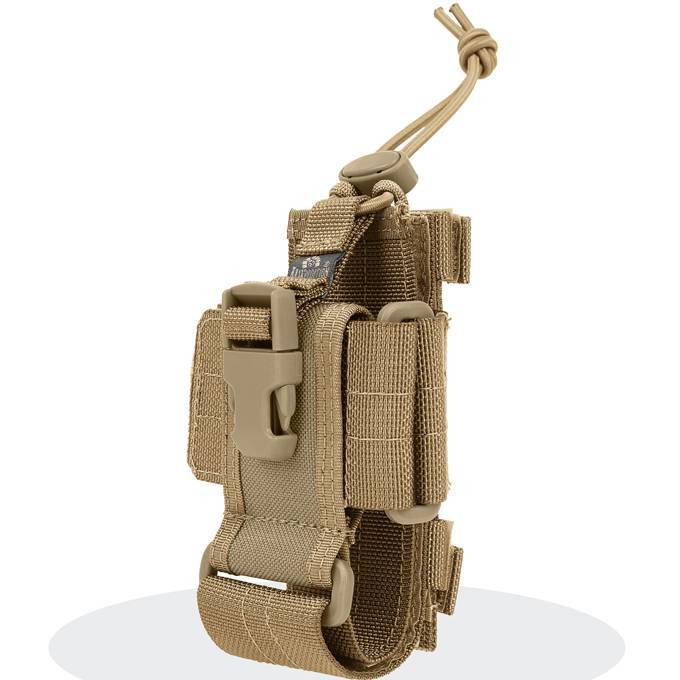 Чехол под рацию / телефон Maxpedition Medium Phone / Radio Holder CP-L Khaki