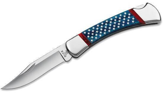 Buck 110 Stars&Stripes Folding Hunter