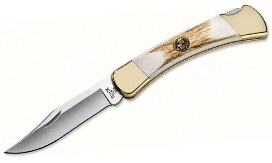 Складной нож BUCK модель 0110EKSBCLE Boone and Crockett Folding Hunter