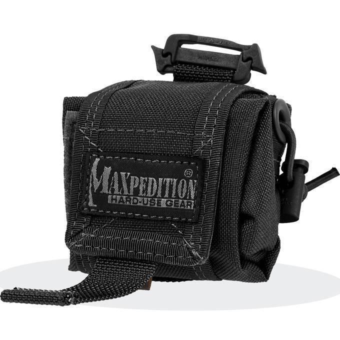 Складной подсумок Maxpedition Mini Rollypoly Black