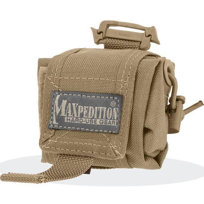 Складной подсумок Maxpedition Mini Rollypoly Khaki