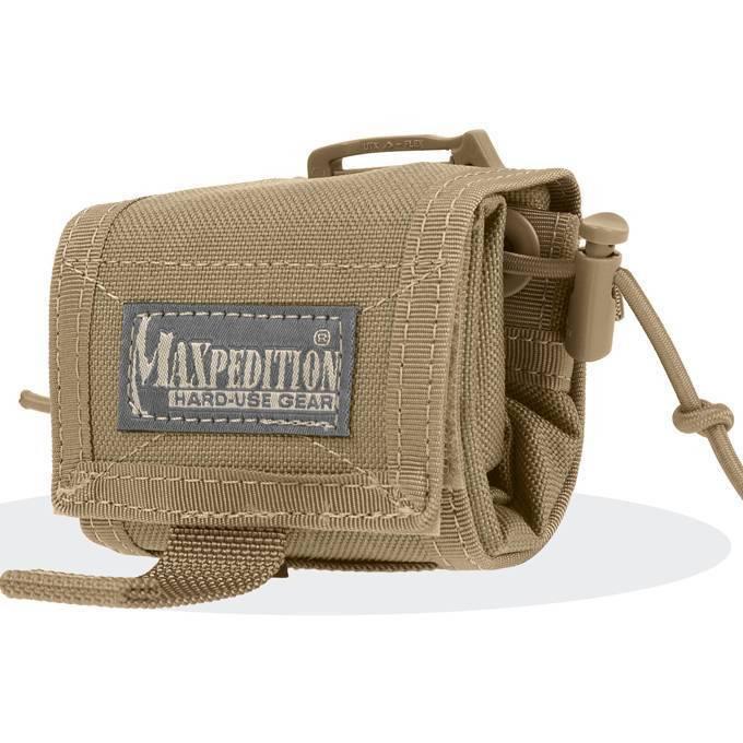 Складной подсумок Maxpedition Rollypoly Folding Dump Pouch Khaki