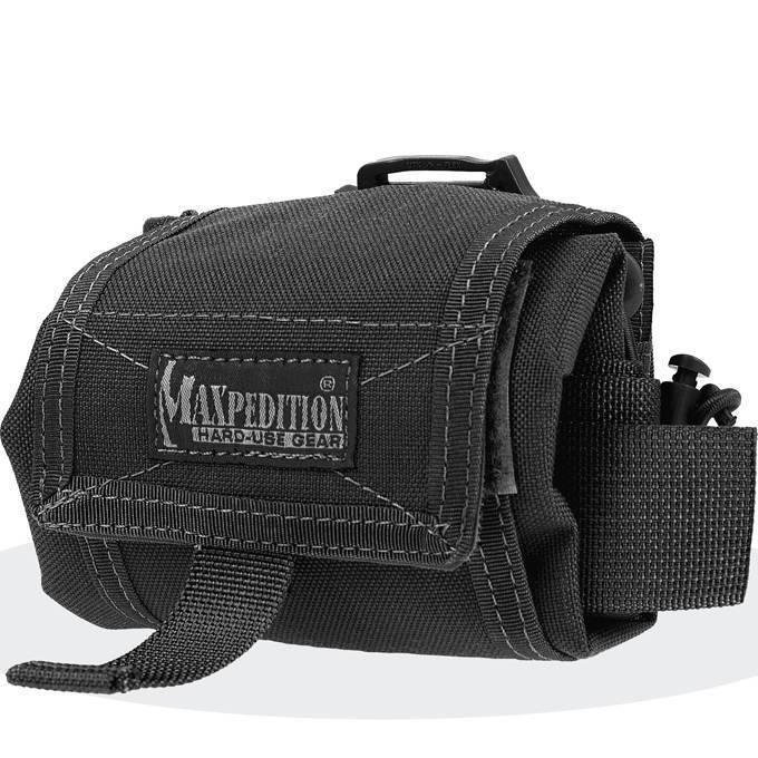 Складная сумка-трансформер Maxpedition Mega Rollypoly Black