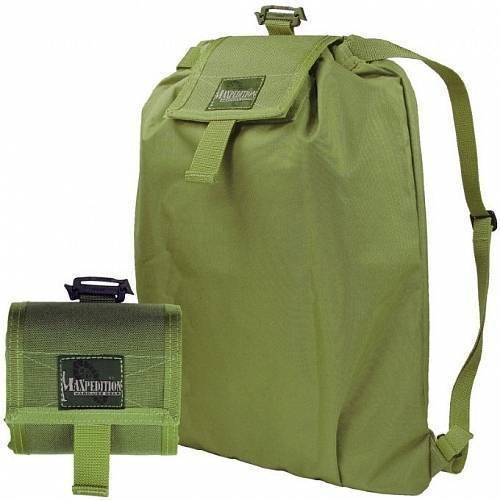 Складной рюкзак-трансформер Maxpedition Rollypoly Backpack Green