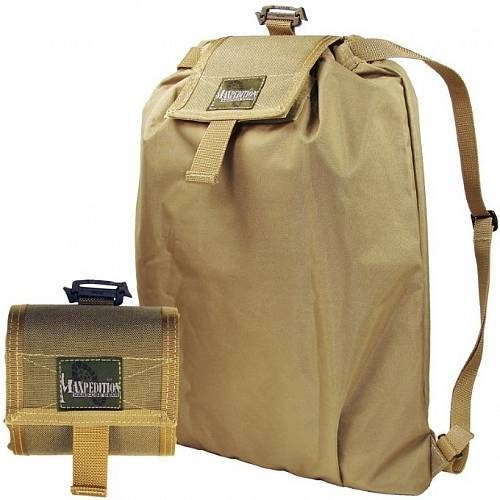 Складной рюкзак-трансформер Maxpedition Rollypoly Backpack Khaki