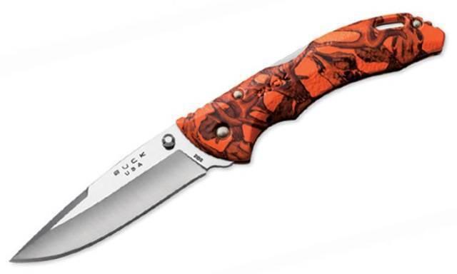 Buck 286 Bantam Orange Head