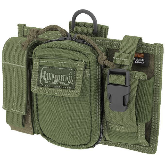 Подсумок Maxpedition Triad Admin Pouch OD Green
