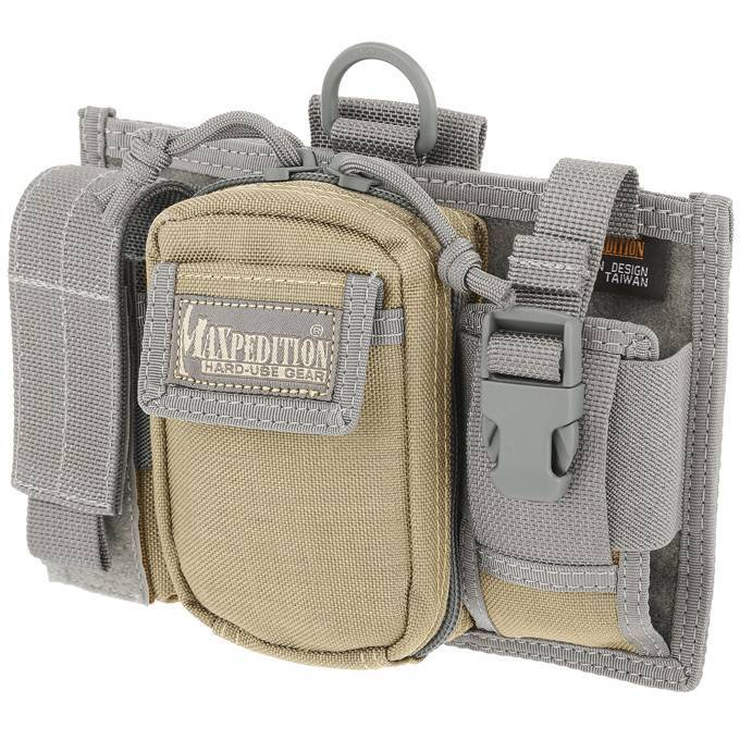 Подсумок Maxpedition Triad Admin Pouch Khaki-Foliage