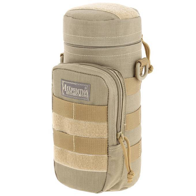 "Чехол под бутылку Maxpedition 10"" x 4"" Bottle Holder Khaki"