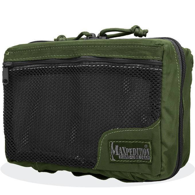 Подсумок - индивидуальная аптечка Maxpedition Individual First Aid Pouch OD Green