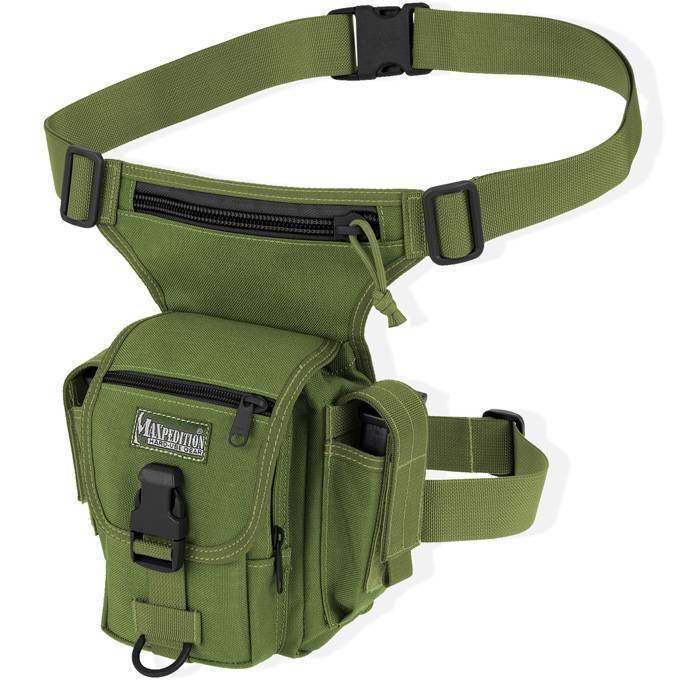 Тактическая набедренная сумка Maxpedition Thermite Versipack OD Green