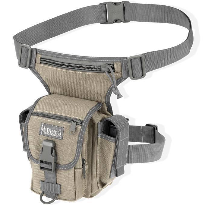 Тактическая набедренная сумка Maxpedition Thermite Versipack Khaki-Foliage
