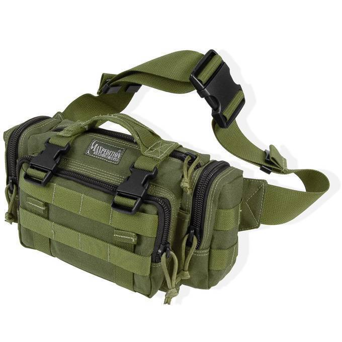 Армейская поясная сумка Maxpedition Proteus Versipack OD Green
