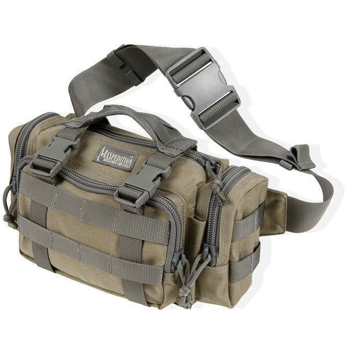 Армейская поясная сумка Maxpedition Proteus Versipack Khaki-Foliage