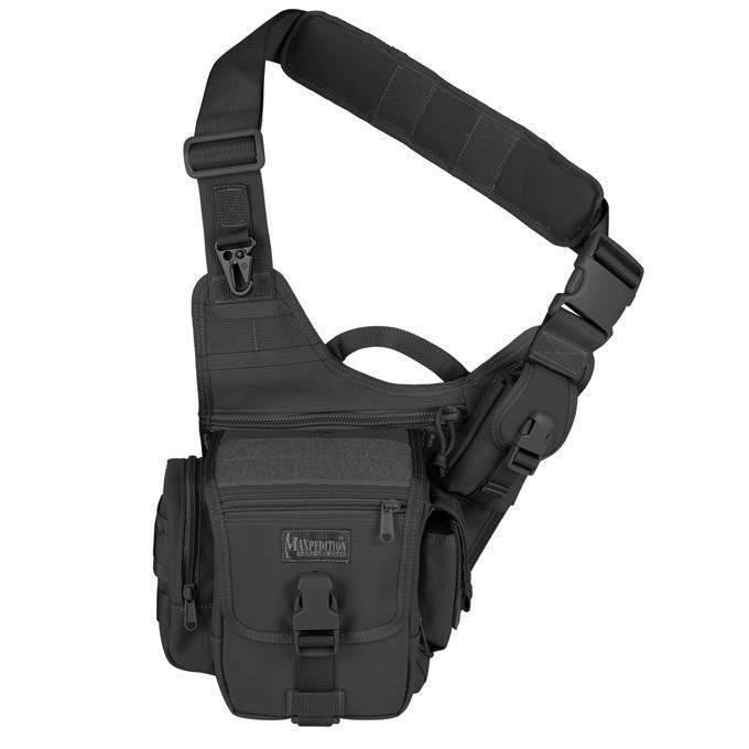 Тактическая сумка Maxpedition FatBoy Versipack Black