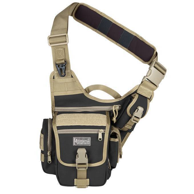 Тактическая сумка Maxpedition FatBoy Versipack Black Khaki