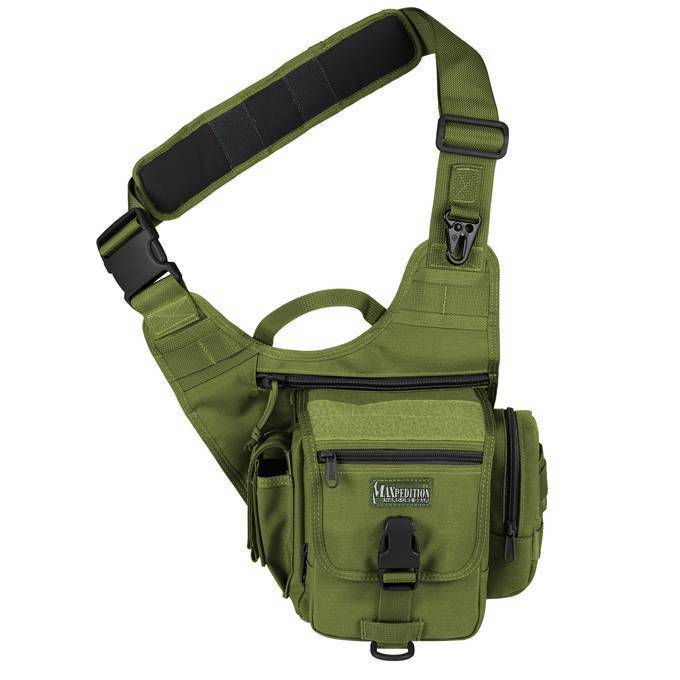 Тактическая сумка Maxpedition S-Type FatBoy OD Green