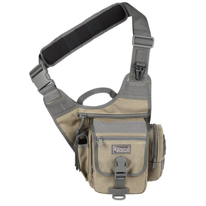 Тактическая сумка Maxpedition S-Type FatBoy Khaki-Foliage
