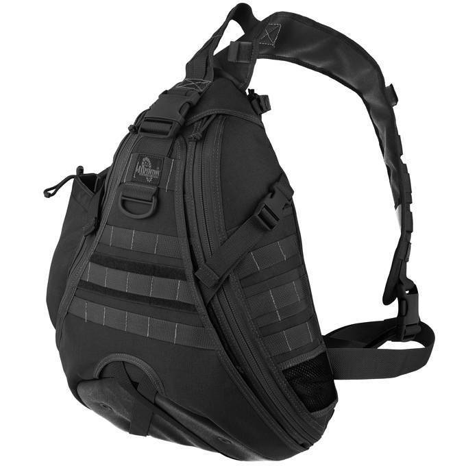 Однолямочный рюкзак Maxpedition Monsoon GearSlinger black
