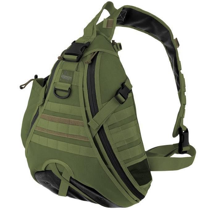 Однолямочный рюкзак Maxpedition Monsoon GearSlinger Green
