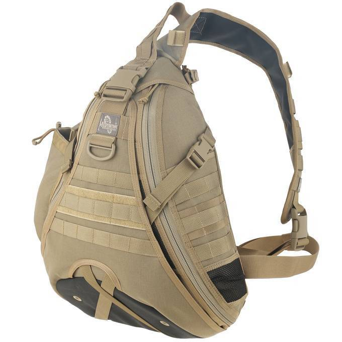 Однолямочный рюкзак Maxpedition Monsoon GearSlinger Khaki