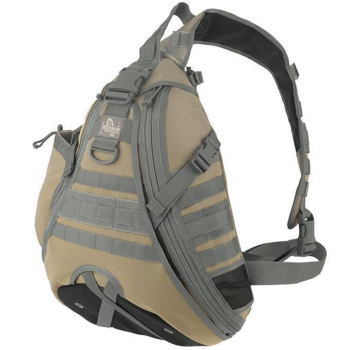 Однолямочный рюкзак Maxpedition Monsoon GearSlinger Khaki-Foliage