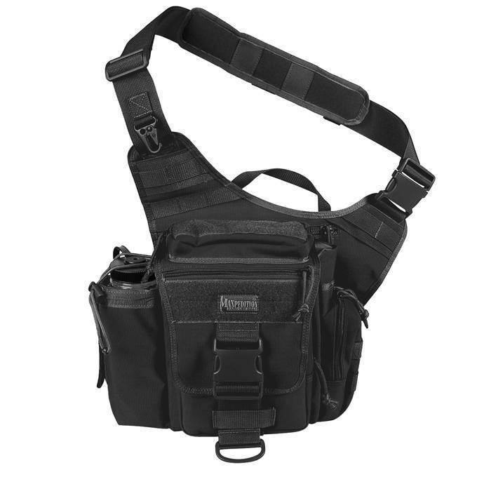Тактическая сумка Maxpedition Jumbo Versipack Black