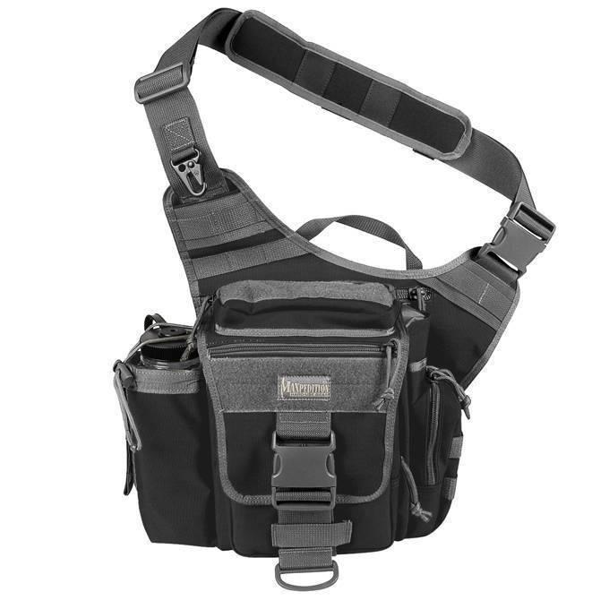 Тактическая сумка Maxpedition Jumbo Versipack Black Foliage