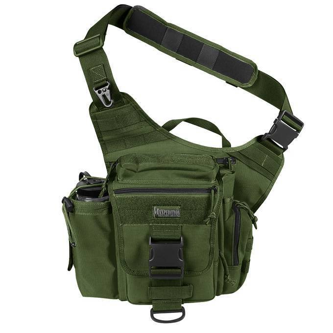 Тактическая сумка Maxpedition Jumbo Versipack OD Green