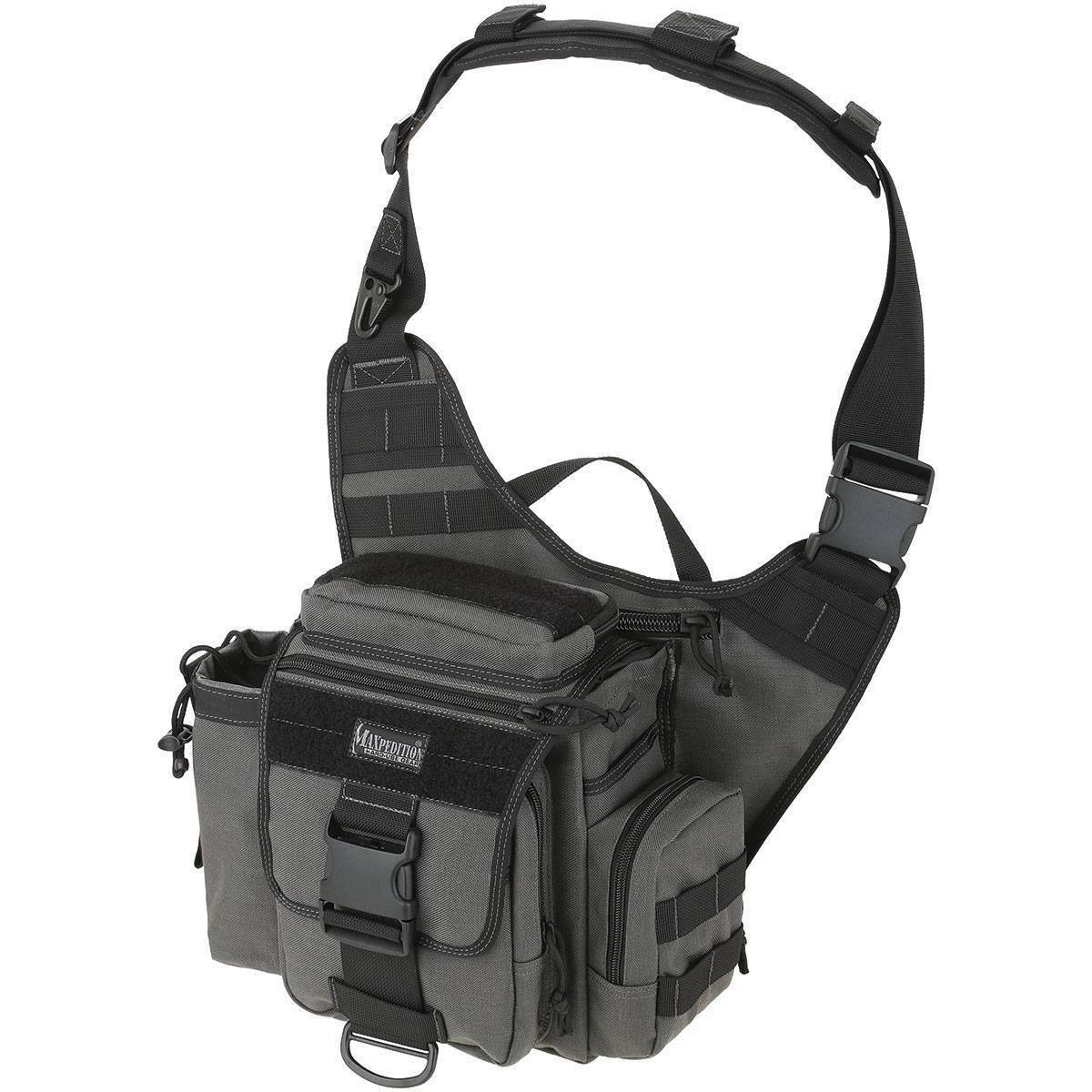 Тактическая сумка Maxpedition Jumbo Versipack Wolf Gray
