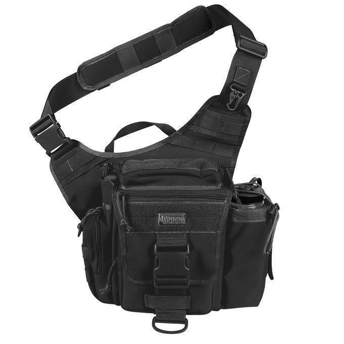 Тактическая сумка Maxpedition S-Type Jumbo Versipack Black
