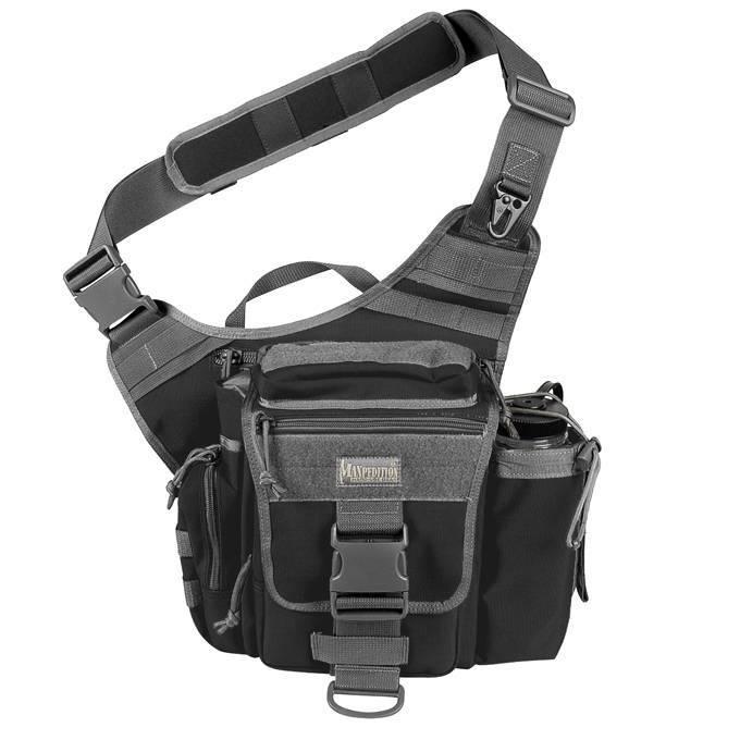 Тактическая сумка Maxpedition S-Type Jumbo Versipack Black Foliage