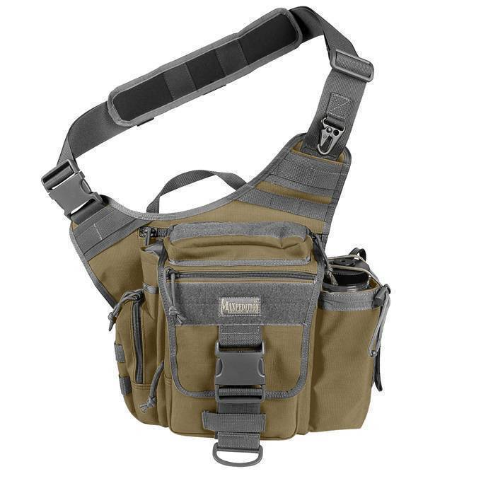 Тактическая сумка Maxpedition S-Type Jumbo Versipack Khaki Foliage