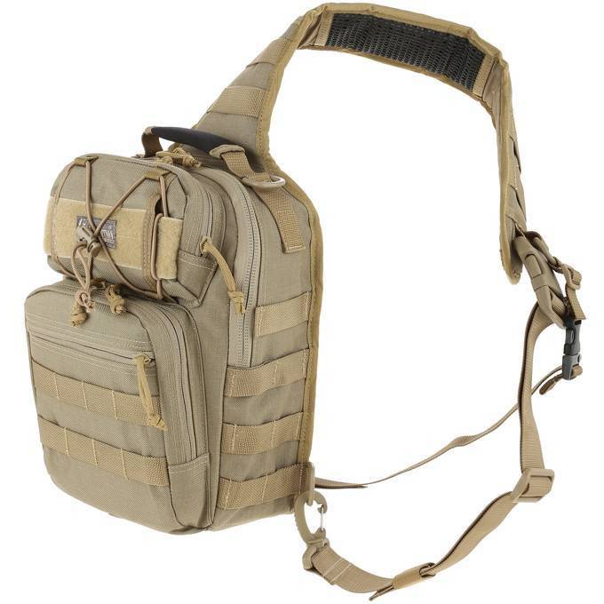 Однолямочный рюкзак Maxpedition Lunada Gearslinger Khaki