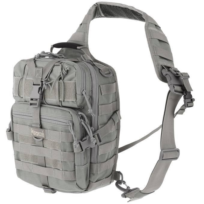 Однолямочный тактический рюкзак Maxpedition Malaga Gearslinger Foliage Green