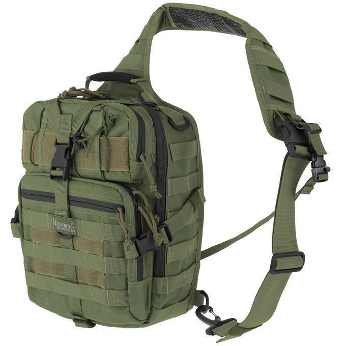 Однолямочный рюкзак Maxpedition Malaga Gearslinger OD Green