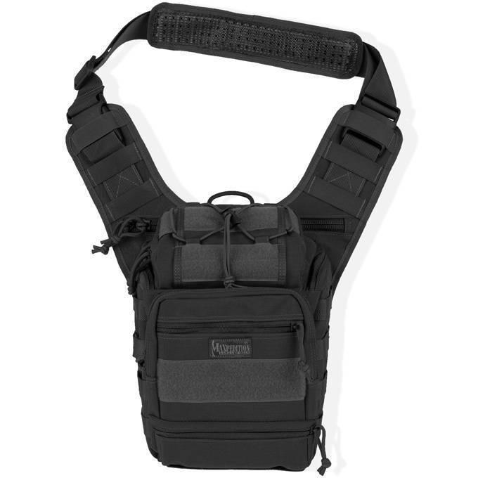 Тактическая сумка Maxpedition Colossus Versipack Black