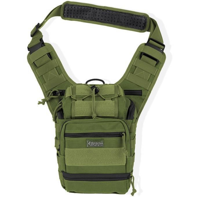 Тактическая сумка Maxpedition Colossus Versipack OD Green