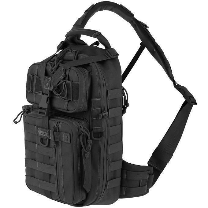 Однолямочный рюкзак Maxpedition Sitka Gearslinger Black