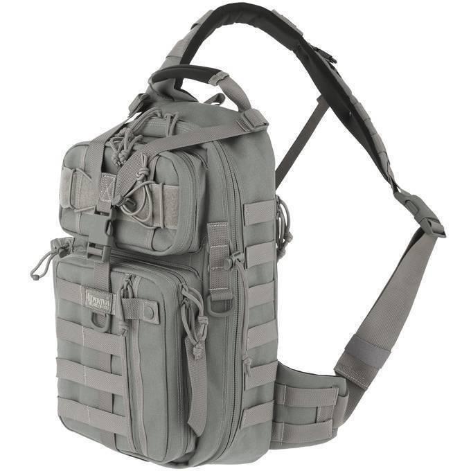 Однолямочный тактический рюкзак Maxpedition Sitka Gearslinger Foliage Green