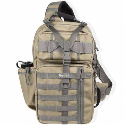 Однолямочный рюкзак Maxpedition Kodiak Gearslinger Khaki-Foliage