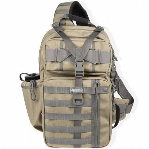 Однолямочный рюкзак Maxpedition Kodiak Gearslinger Khaki-Foliage