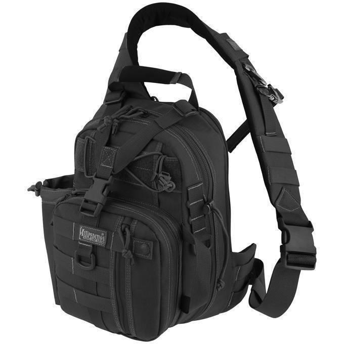 Однолямочный рюкзак Maxpedition Noatak Gearslinger Black