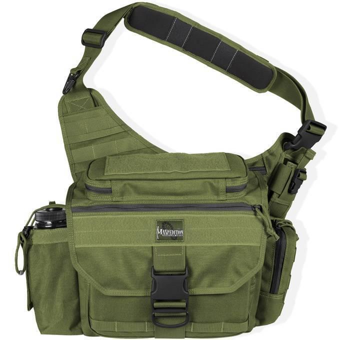Тактическая сумка Maxpedition Mongo Versipack OD Green