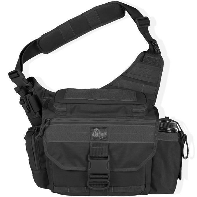 Тактическая сумка Maxpedition Mongo Versipack S-Type Black