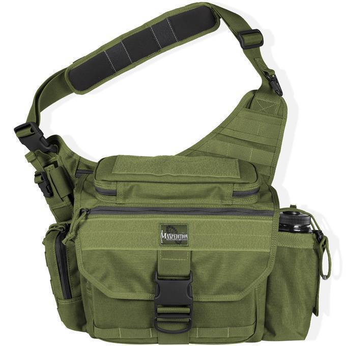 Тактическая сумка Maxpedition Mongo Versipack S-Type OD Green