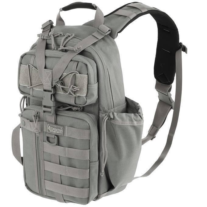 Однолямочный тактический рюкзак Maxpedition Sitka S-type Gearslinger Foliage Green