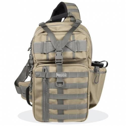 Однолямочный рюкзак Maxpedition Kodiak S-type Gearslinger Khaki-Foliage