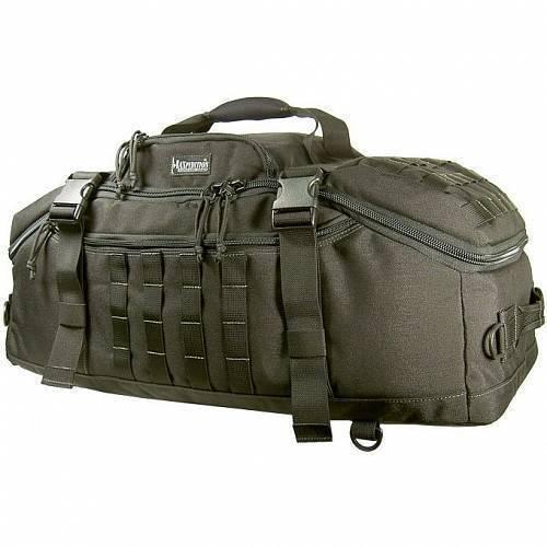 Дорожная сумка-рюкзак Maxpedition DOPPELDUFFEL Adventure Bag Black