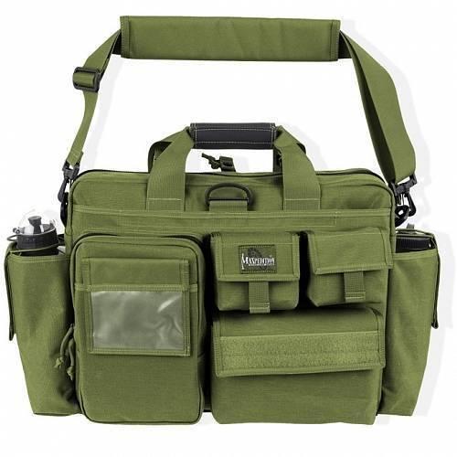 Тактическая сумка Maxpedition Aggressor Tactical Attache OD Green